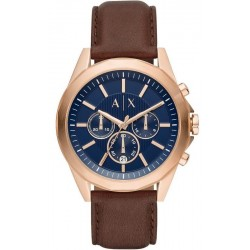 Buy Men's Armani Exchange Watch Drexler AX2626 Chronograph