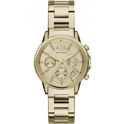Buy Women's Armani Exchange Watch Lady Banks AX4327 Chronograph