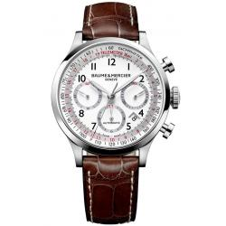 Buy Men's Baume & Mercier Watch Capeland 10082 Automatic Chronograph