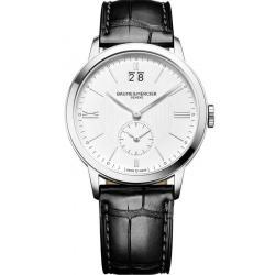 Buy Men's Baume & Mercier Watch Classima 10218 Dual Time Quartz
