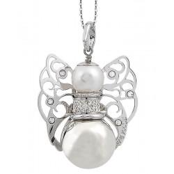 Buy Women's Boccadamo Necklace Kerubina KUGR19 Swarovski Angel