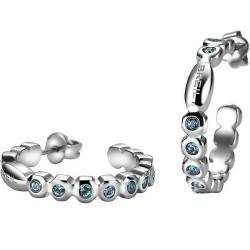 Buy Women's Breil Earrings Rolling Diamonds TJ1573