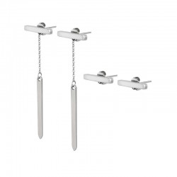 Buy Women's Breil Earrings Bangs TJ2218