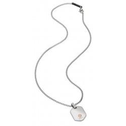 Buy Men's Breil Necklace 9K TJ2261