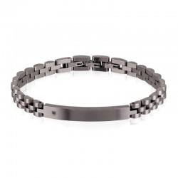 Buy Men's Breil Bracelet Black Diamond TJ2400