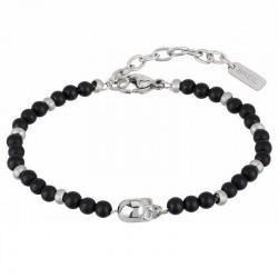 Men's Breil Bracelet Black Onyx TJ2406