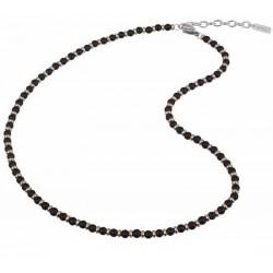 Buy Mens Breil Necklace Black Onyx TJ2410