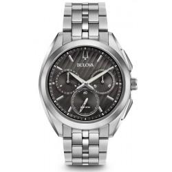 Buy Men's Bulova Watch Progressive Dress Curv 96A186 Quartz Chronograph