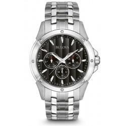 Buy Men's Bulova Watch Dress 96C107 Quartz Multifunction