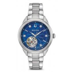 Buy Women's Bulova Watch Classic 96P191 Diamonds Mother of Pearl