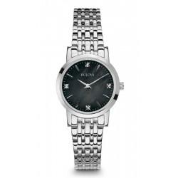 Buy Women's Bulova Watch Diamonds 96S148 Mother of Pearl Quartz