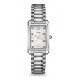 Buy Women's Bulova Watch Diamonds 96S157 Mother of Pearl Quartz