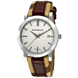 Buy Unisex Burberry Watch Heritage Nova Check BU1389