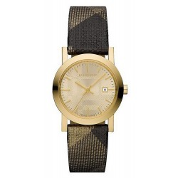 Women's Burberry Watch The City Nova Check BU1875