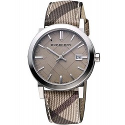 Buy Women's Burberry Watch The City Nova Check BU9118