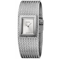 Buy Women's Calvin Klein Watch Mesh K5L13136