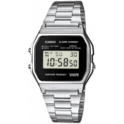 Buy Casio Vintage Unisex Watch A158WEA-1EF