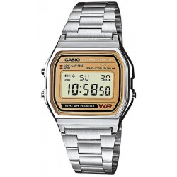 Buy Casio Vintage Unisex Watch A158WEA-9EF