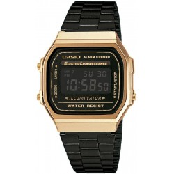 Buy Casio Vintage Unisex Watch A168WEGB-1BEF