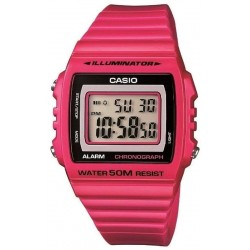 Buy Casio Collection Unisex Watch W-215H-4AVEF Multifunction Digital