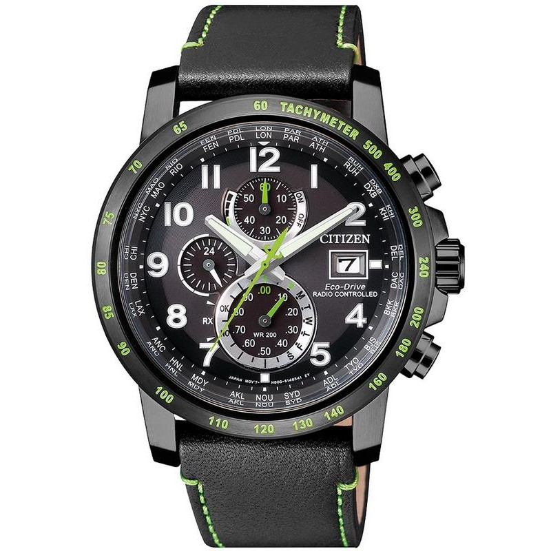 1602b789a6f Men s Citizen Watch Radio Controlled H800 Sport Eco-Drive AT8128-07E ...