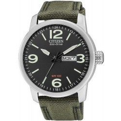 Buy Men's Citizen Watch Military Eco-Drive BM8470-11E