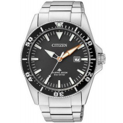 Buy Men's Citizen Watch Promaster Marine Diver's Eco-Drive 200M BN0100-51E