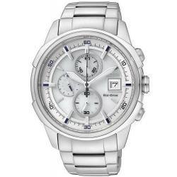 Buy Men's Citizen Watch Chrono Eco-Drive CA0370-54B