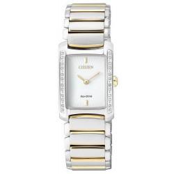 Buy Women's Citizen Watch Eco-Drive EG2965-53A Diamonds