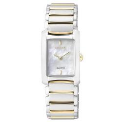Buy Women's Citizen Watch Eco-Drive EG2975-50D Mother of Pearl
