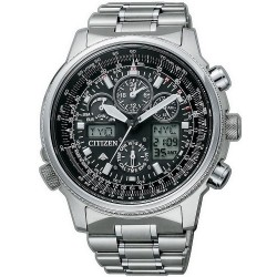 Buy Men's Citizen Watch Promaster Super Pilot Radio Controlled Titanium JY8020-52E