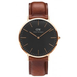 Buy Men's Daniel Wellington Watch Classic Black St Mawes 40MM DW00100124