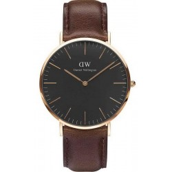 Buy Men's Daniel Wellington Watch Classic Black Bristol 40MM DW00100125