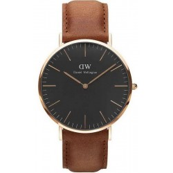 Buy Men's Daniel Wellington Watch Classic Black Durham 40MM DW00100126