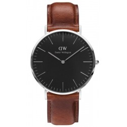 Buy Men's Daniel Wellington Watch Classic Black St Mawes 40MM DW00100130