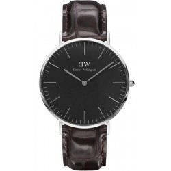 Buy Men's Daniel Wellington Watch Classic Black York 40MM DW00100134