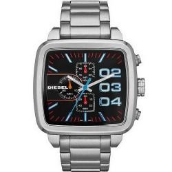 Buy Men's Diesel Watch Double Down Square DZ4301 Chronograph