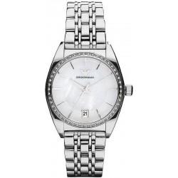 Buy Women's Emporio Armani Watch Franco AR0379 Mother of Pearl