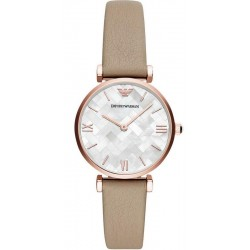 Buy Women's Emporio Armani Watch Gianni T-Bar AR11111 Mother of Pearl