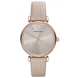 Buy Women's Emporio Armani Watch Gianni T-Bar AR1681
