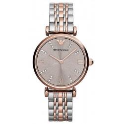 Buy Women's Emporio Armani Watch Gianni T-Bar AR1840