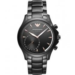 Buy Men's Emporio Armani Connected Watch Alberto ART3012 Hybrid Smartwatch