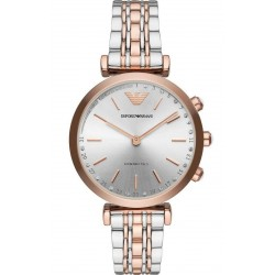 Buy Women's Emporio Armani Connected Watch Gianni T-Bar ART3019 Hybrid Smartwatch