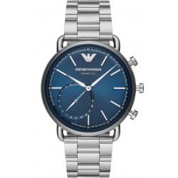 Buy Men's Emporio Armani Connected Watch Aviator ART3028 Hybrid Smartwatch
