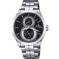 Men's Festina Watch Retro F16891/6 Quartz