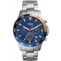 Men's Fossil Watch Crewmaster CH3059 Chronograph Quartz