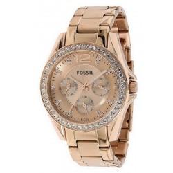 Buy Women's Fossil Watch Riley ES2811 Quartz Multifunction