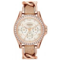 Buy Women's Fossil Watch Riley ES3466 Quartz Multifunction