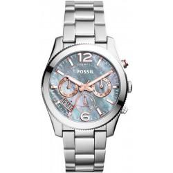 Women's Fossil Watch Perfect Boyfriend ES3880 Quartz Multifunction