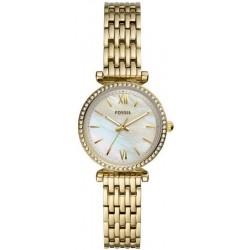 Buy Women's Fossil Watch Carlie Mini ES4735 Mother of Pearl Quartz